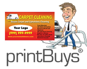 Carpet Cleaning Business Cards # C0001