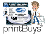 Carpet Cleaning Business Cards # C0007