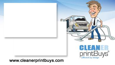 Carpet Cleaning Car Magnet C50004 18 X 24