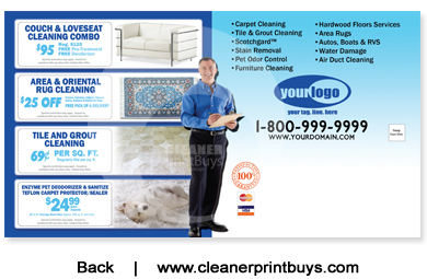 Carpet Cleaning Direct Mail 6 X 11 C0008 Uv Gloss