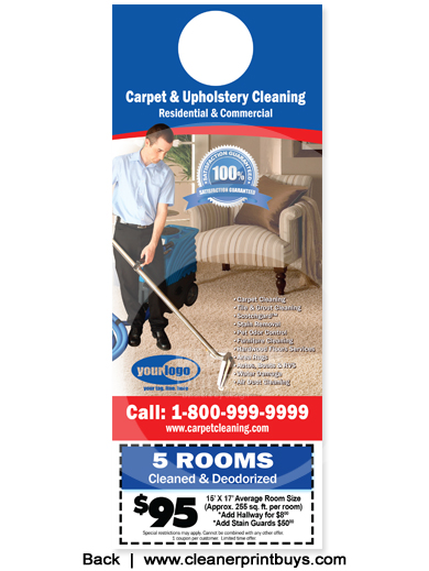 Beau Carpet Cleaning Flyers | Door Hangers | Postcards | Business Cards