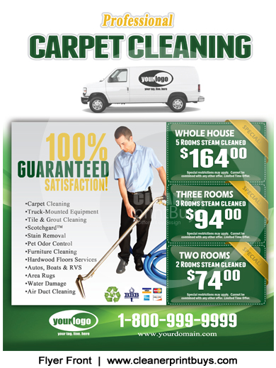Carpet Cleaning Holiday Eddm 8 5 X 11 C1002