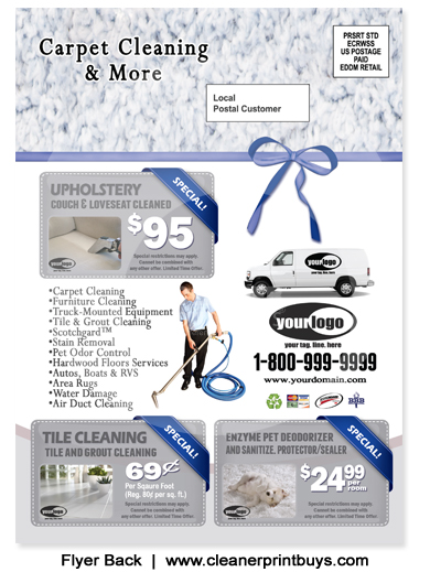 Carpet Cleaning Holiday Eddm Postcard 6 5 X 9 C1021