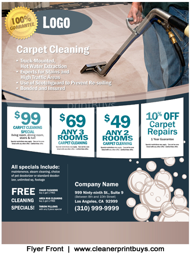 Cleaning Flyer (8.5 x 11) #C0004