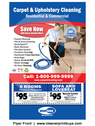 Cleaning Flyer (8.5 x 5.5) #C0006