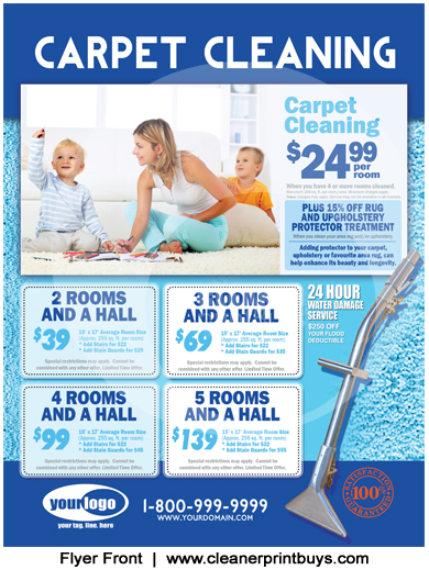 Carpet Cleaning Flyer 85 X 11 C0008