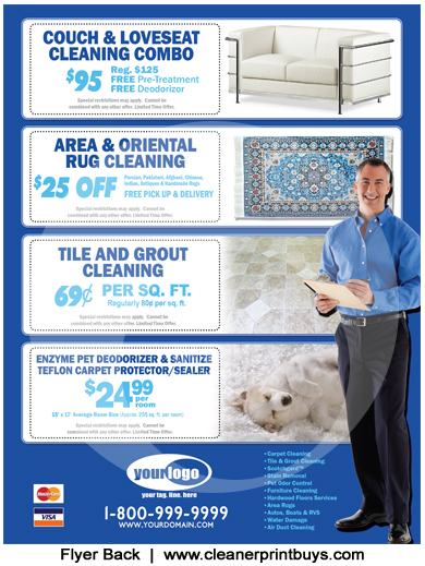 Carpet Cleaning Flyer 8 5 X 11 C0008