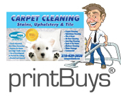 Carpet Cleaning Postcards # C0005