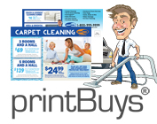 Carpet Cleaning Postcards # C0008