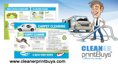 Carpet Cleaning Postcard 4 X 6 C1006 Matte