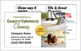 Carpet Cleaner Business Cards c0002