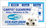 Carpet Cleaner Business Cards c0005