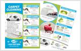 Carpet Cleaning Flyers c1006