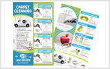 Carpet Cleaning Flyers C1006 8.5 x 5.5
