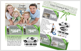 Carpet Cleaning Flyers C1023 8.5 x 11