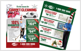 Carpet Cleaning Flyers c2002