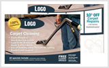 Carpet Cleaning Postcards c0004