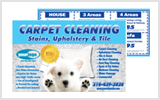 Carpet Cleaning Postcards c0005