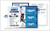 Carpet Cleaning Postcards c1001 8.5 x 5.5