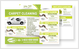 Carpet Cleaning Postcards c1005 8.5 x 5.5