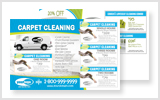 Carpet Cleaning Postcards c1006 8.5 x 5.5